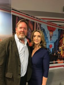 Mark Brindley with Victoria Derbyshire
